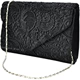 Wocharm (TM) Ladies Lace Envelope Clutch Bag Evening Bag Bridal Wedding Bag Handbag Prom Bag