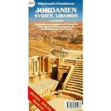 Jordanie / Syrie / Liban. 1/1 250 000