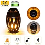 SHOPEE BRANDED Led Flame Speaker, HD Led Flame Atmosphere Speaker Torch Atmosphere Bluetooth
