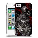 Ufficiale Resident Evil Iron Maiden Gioco 4 Creature Cover Morbida in Gel per iPhone 4 / iPhone 4S