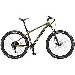 GT 727207M30SM Bicicleta, Unisex Adulto, Verde, S