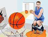 YunNasi Slam Dunk Mini Basketballboard - Game BasketBall für Badewanne WC Toilett