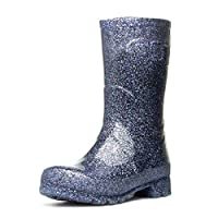 Zone - Womens Glitter Wellington Boot