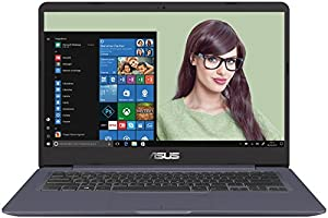 "Asus Vivobook S14 S406UA-BM013T Ultrabook 14"" Full HD Gris Métal (Intel Core i5, 8 Go de RAM, SSD 256 Go, Intel HD Graphics, Windows 10) Clavier AZERTY Français"