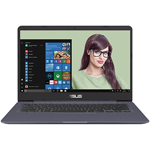 Asus Vivobook S14 S406UA-BM013T Ultrabook 14' Full HD Gris Métal (Intel Core i5, 8 Go de RAM, SSD 256 Go, Intel HD Graphics, Windows 10) Clavier AZERTY Français