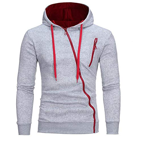 NINGSANJIN Herren Softshell Funktions Outdoor Jacke wasserabweisend (Grau,L)