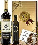 Wine & Oil Geschekset Rotwein & Olivenöl aus Spanien Mallorca