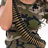 "Kids Army Play Bullet Belt - 60"" Long"