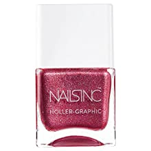 Nails Inc Holler Graphic, Molten My Day