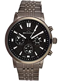 Gio Collection Analog Black Dial Men's Watch - G1025-99