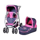 Knorrtoys 90725 - Coco, Diadem, Puppenkombi, blau/rosa