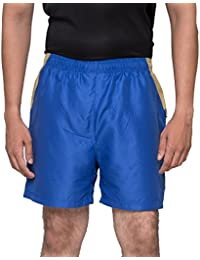 Acetone Solid Men's Running Shorts(USH1 -Blue)