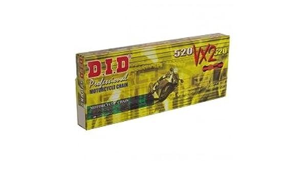 91-04 DID Kettensatz extra verstärkt gold Yamaha DT 125 R 4BL Bj