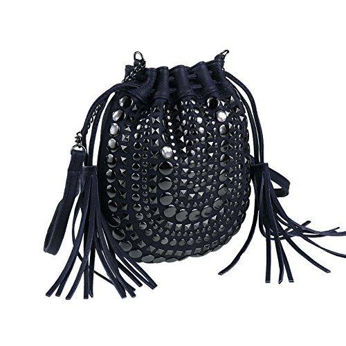 OBC Only-Beautiful-Couture, Borsa a spalla donna blu Dunkelblau ca.: 20x24x2 cm (BxHxT) Dunkelblau