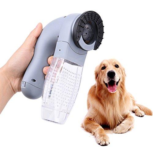 OFKPO Portatile Aspiratore per Pulizia Animali Domestici Vacuum Aspiratore Cani
