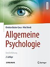 Dieses klassische Lehrbuch zur Einführung in die grundlegenden Themen der Allgemeinen Psychologie (I und II) ist zugleich ein vorzügliches Werk zum Nachschlagen und zur Wissensvertiefung. Es richtet sich vornehmlich an Studierende und ist bestens gee...