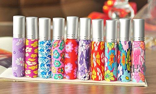 5starwarehouse ® polymère argile 10 ml Parfum Atomiseur rechargeable Voyage Après-Rasage Atomiseur Spray Bouteille miniature