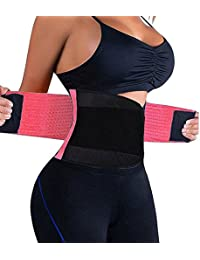 2ff920e1c MUKATU Women s Waist Trainer Girdle Slimming Cincher Workout Body Shaper  Belt