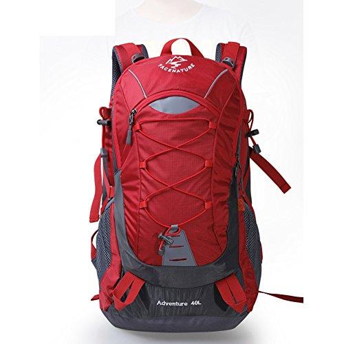Outdoor Rucksack Tasche wandern/Rucksack-paar/ Sporttasche/ Wandern Pack Rot