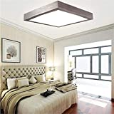 SAILUN 16W LED Panel Kaltweiß/Warmweiß Moderne Deckenlampe Wandlampe Energiespar Deckenleuchte für Wohnzimmer Lampe, Korridor, Wand, Bad und Decke Schlafzimmer, Wandleuchte