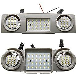 LED SMD Innenraumbeleuchtung Set Modul Module Hauptbeleuchtung Lesebeleuchtung vorne vorn Mittlere vordere Beleuchtung hinten hintere Beleuchtung Fond Fondbeleuchtung