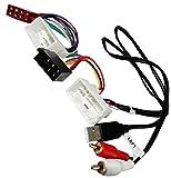 Aerzetix - Adattatore convertitore cavo autoradio ISO USB RCA maschio di piombo