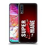 Head Case Designs Ufficiale Liverpool Football Club Sadio Mané Super 2018/19 Star Trio Cover in Morbido Gel Compatibile con Samsung Galaxy A70 (2019)