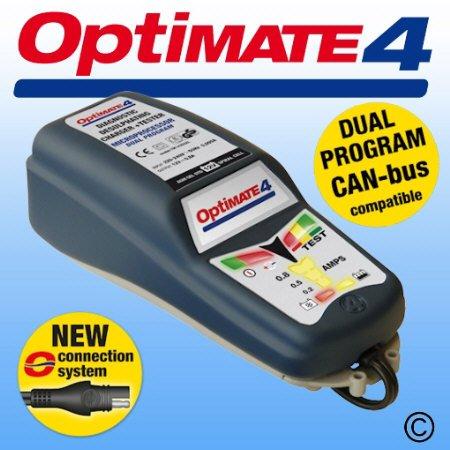 Cargador batería Optimate 4 Dual, para Can-Bus