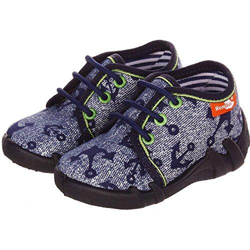 Baby Comfort , Jungen Stiefel Car Blue Check 7.5 ( 25 EU ) Car Blue Check