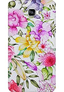 AMEZ designer printed 3d premium high quality back case cover for Samsung Galaxy A9 (florals )