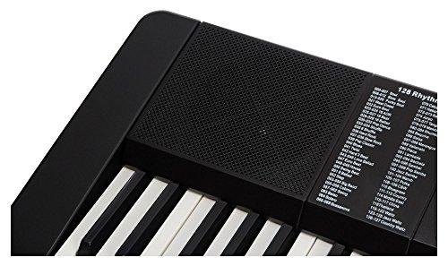 Funkey 00038126 61-Edition Keyboard (128-Sound, 128-Rhythmen, 10-Demo Song, Netzteil, Notenständer) schwarz - 7