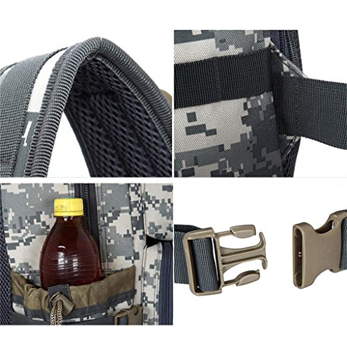 TaoMi- Outdoor Rucksack - Multifunktions-Kombination Tarntasche Bergsteigen Tasche Sporttasche B