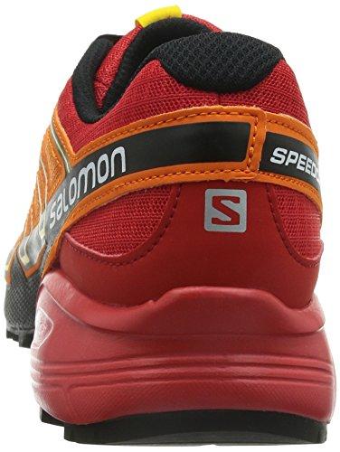Salomon Speedcross 3 Gtx Damen Trail Runnins Sneakers Orange (Yellow Gold/Tomato Red/Black)
