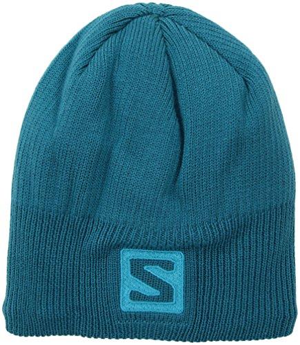 Salomon Logo Beanie enamel blue