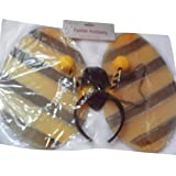 Bumble bee wings and headband-14 inches dressing up