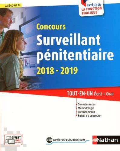 Concours Surveillant pnitentiaire 2018-2019. Tout en un crit + oral