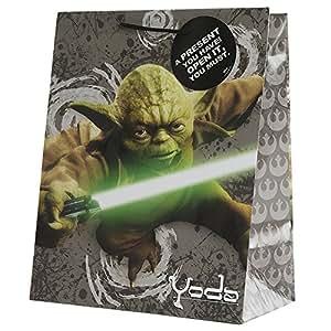star wars yoda colour photo sac cadeau par caract ristique fournitures de bureau. Black Bedroom Furniture Sets. Home Design Ideas