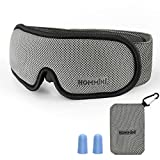 Sleep mask,Eye Mask for Sleeping,HOMMINI Memory Foam Eye Mask with Adjustable Strap, Sleeping