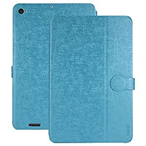 Heartly Premium Luxury PU Leather Flip Stand Back Case Cover For Xiaomi Mi Pad 2 / Mi Pad 3 - Power Blue