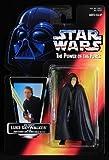 Star Wars Action Figur 69596 - Jedi Ritter Luke Skywalker mit Lichtschwert und abnehmbarem Mantel