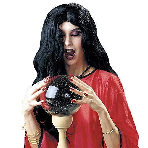 Männer Kostüm Zigeuner - Party Wig 6033H -Perücke AMELIA, schwarz