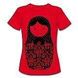 Spreadshirt Matroschka Frauen T-Shirt, L, Rot