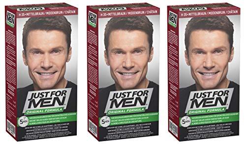 Tinte para el cabello Just for Men champú
