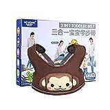 Kobwa 3-in-1 Baby Kinderschutzgurt Sicherheitsleine für Buggy Kleinkinder, Kinderlauf- und Schutzgurt