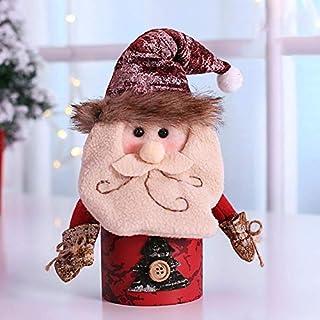 Menior Weihnachtsdekorationen Süßigkeit-Dosen, Kinder Weihnachtsgeschenke Weihnachtsmann Schneemann Elch