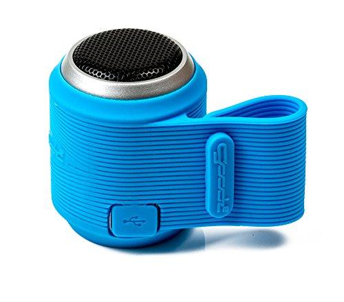 Un altavoz mini de Bluetooth, altavoz portátil inalámbrico compatible con Android, Apple - Azul