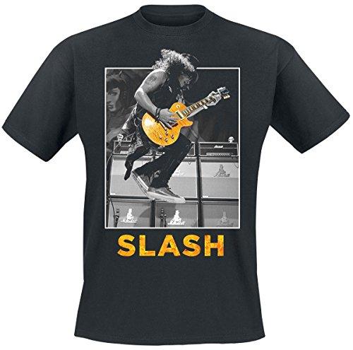 Slash Guitar Jump T-Shirt nero S