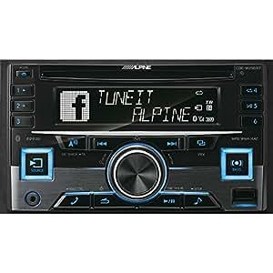 Alpine CDE-W296BT 200W Bluetooth Black car media receiver - car media receivers (4.0 channels, FM,LW,MW, 87.5 - 108 MHz, 153 - 281 kHz, 24-bit, LCD)