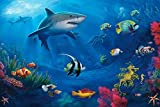 Underwater World - Art Print Poster,Wall Decor,Home Decor24x36inches