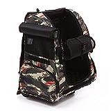 CWBB Hundetrolley Rucksack,Portable Hundetrolley Camouflage Transport für Hunde Folding Extensible Transportbox, blue